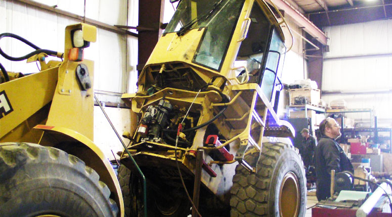 Heavy equipment repair1